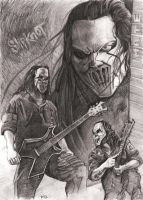 Mick Thomson - Slipknot by Alleycatsgarden