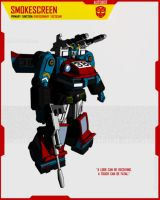 AUTOBOT SMOKESCREEN by F-for-feasant-design