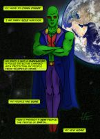 Martian Manhunter by Stone-Fever