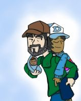 Twd game: Kenny's a good father figure by Codexmas