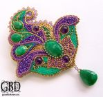 deluxe brooch by gbdreams