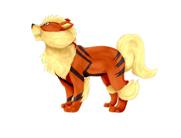 Arcanine by CreepXHatter
