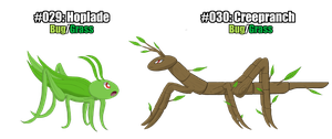 Fakemon Marble and Jade: #029-030 by Suicunesrider
