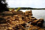 Possum Kingdom Lake: Rocks 1 by Stock-by-Kai