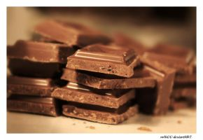 Stacks Of Chocolate by nnIKOO