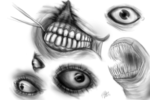 Eyes n Teeth by fabman132