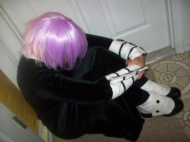 Crona Cosplay: Idk how to deal with this!!! by CronaBaby