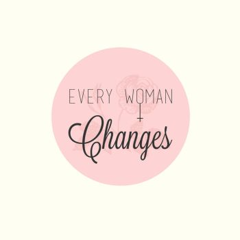 Every Woman Changes Logo Design Concept by Antu