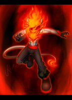 :PC: Fire Demon by Keitronic
