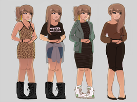 Alt outfits by blue-pizza123
