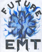 EMT Shirt Design by LisaGiggleman