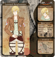 C-A Application : Leonard Berghammer by CandyPiie