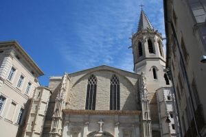 wonderful cathedral carpentras by ingeline-art