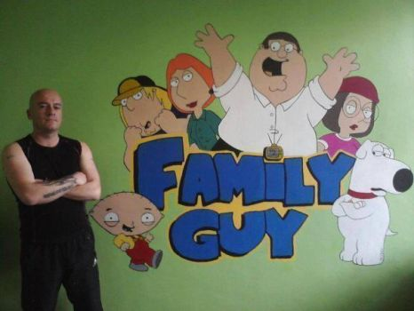Family Guy Crest Wall Mural by Hodgy-Uk