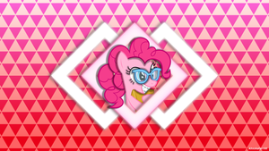 Nerd Pinkie wallpaper by Ahsokafan100