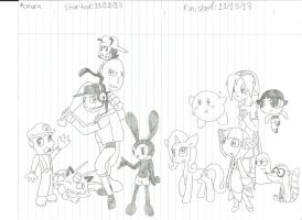 basically my favorite characters by cmara