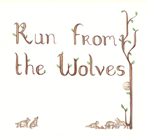 Sketch 15 04 12_Run from the Wolves by Vaelyane