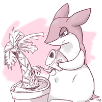 typhlosion used the squirtBottle by CrazyIguana