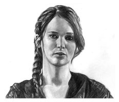 Katniss Everdeen by girlinterruptedbyart