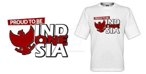 Proud To Be Indonesian Red by theXIVdesigns