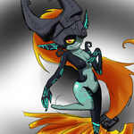 midna by scarlet-colored-moon