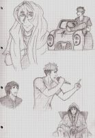 Free! Sketch Dump by LoveToTheCucumber