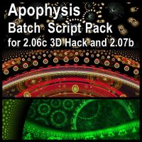 Apophysis Batch Script Pack by parrotdolphin