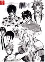 Study: Boys ink by The-Nai