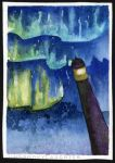 Northern Lighthouse (Tiny Art for Trees 5 / 12) by unSpookyLaughter
