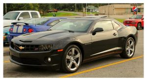 Black Camaro SS by TheMan268