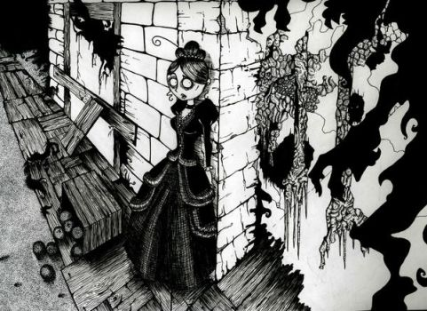 Trying To Escape Hell by ArrogantLampShade