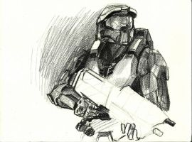 Masterchief 3-4 by Anythingguy