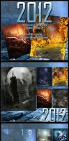 2012 Backgrounds by cosmosue