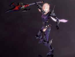 Lightning - Knight of the Dragoon - 03 by HentaiAhegaoLover