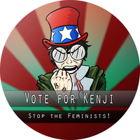 Kenji button by Ryder-Sechrest
