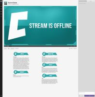 Cosmic Twitch Layout by sYpr0