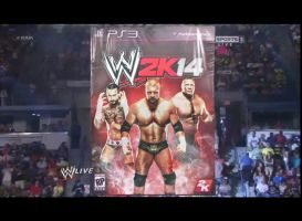 WWE 2K14 fan made cover reveal by ultimate-savage