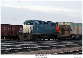 EMDX GP38-2 762 by hunter1828