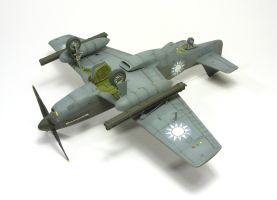 1/72 P-51C Mustang IV by Zero-Cannard