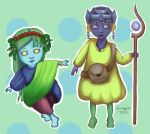 Spring Characters by Grungguuse