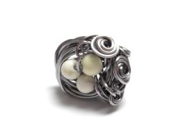 Nest Adorned Ring by sojourncuriosities