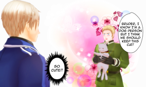 MMD APH Germany's Unconditional Love by MentaLilnes