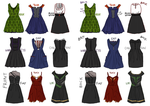 Avengers Dresses by Robinade