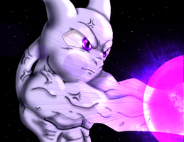 Mewtwo Pokemon 3900 by Jeticus