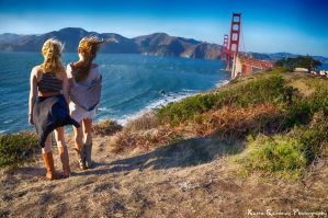 Friends in San Francisco by KasraRassouli