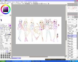 WIP: WInx club by werunchick