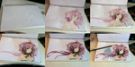 progress painting ikaros chan by xoxkimochiixox