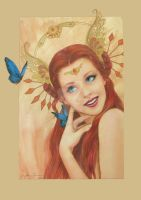 Garden Of Winged Things Signed by FaeryAzarelle