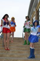 the sailor scouts by titanstargirl