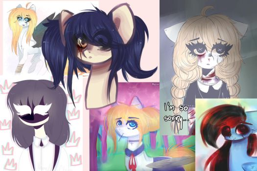 Never posted drawings by NameIessChan